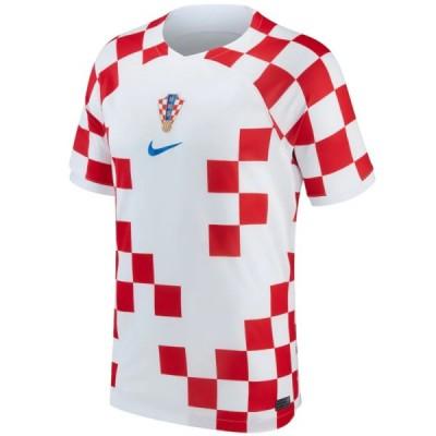Hrvatska 2018 Svjetsko prvenstvo Domaći Nogometni Dresovi Kratkih Rukava Dres