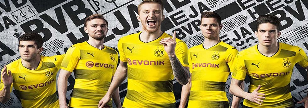 Borussia Dortmund shirts